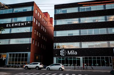 Working building at Mila